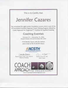 Coaching Essentials Certificate